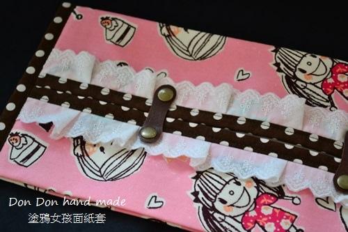 塗鴉女孩面紙套(5)