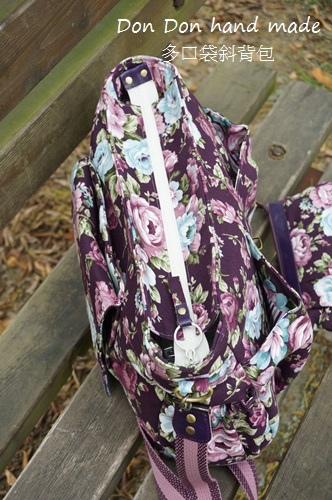 多口袋斜背包。打折化妝包(6)