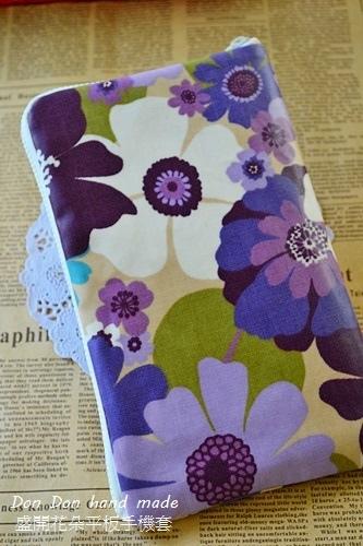 盛開花朵平板手機套(3)
