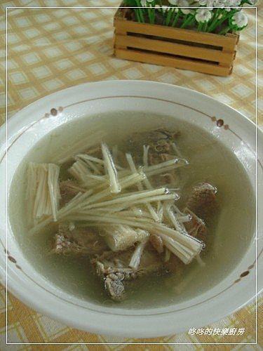 20100910金菇牛腩湯