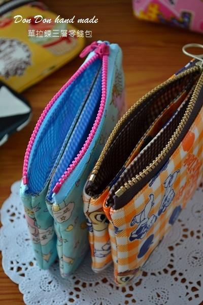 夾層存褶包。單拉鍊三層零錢包。雙拉鍊零錢包(5)