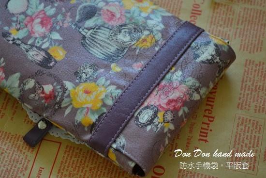 防水手機袋。紫戀浪漫平版套(8)