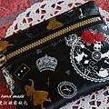 愛麗絲。雙拉鍊零錢包(1)