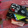 愛麗絲。雙拉鍊零錢包(3)
