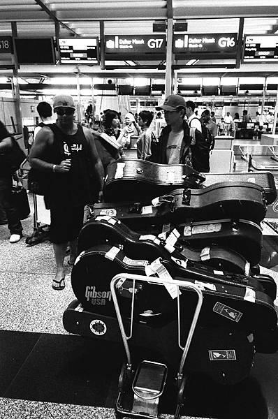 在吉隆坡機場準備回來