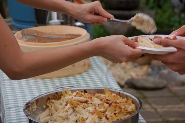 奶油培根焗烤通心粉