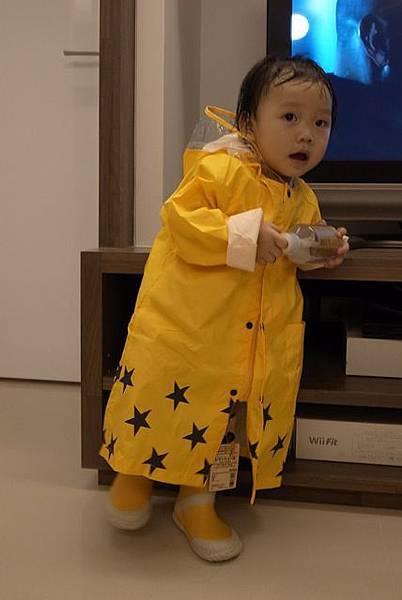 JJ穿雨衣