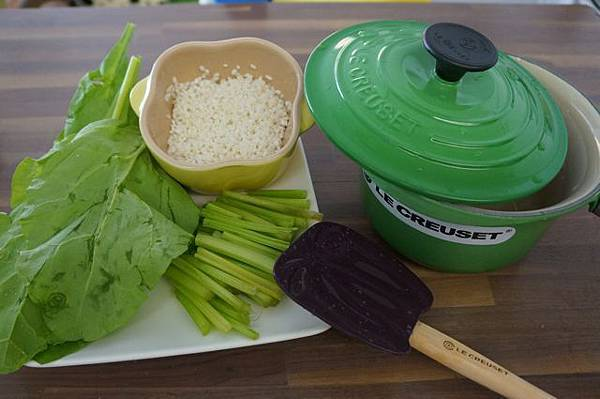 第一次用LC鑄鐵鍋做副食品