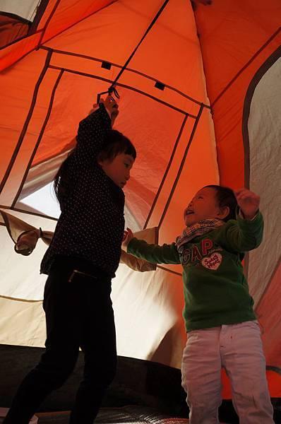 兩小的第一次露營_4