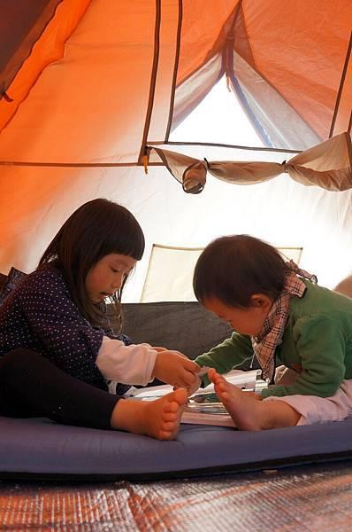 兩小的第一次露營_6