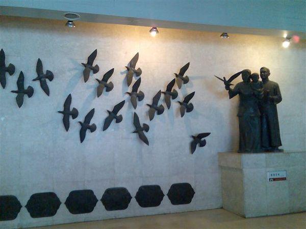 牆壁上的浮雕