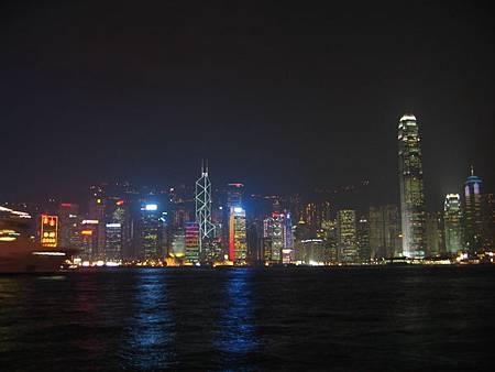 碼頭看夜景