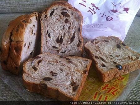 三芝小豬 肉桂葡萄麵包