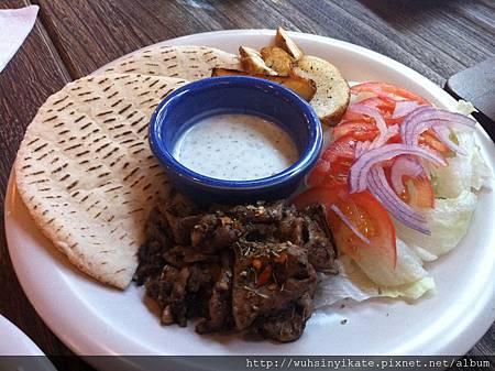 希臘左巴 肉 餅