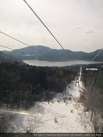 箱根空中纜車 遠眺蘆之湖