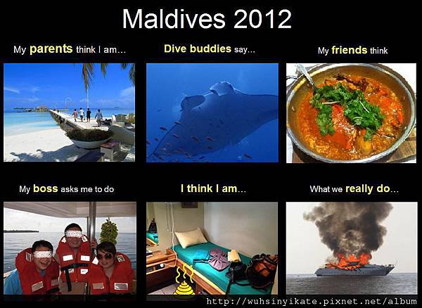 What the real Maldives