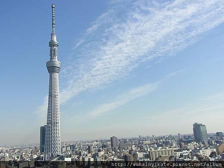 加入東京粉絲團-東京晴空塔