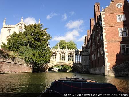 劍橋大學聖約翰學院(St John's College, Cambridge)的嘆息橋(Bridge of Sighs)