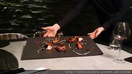 海鮮章魚盤