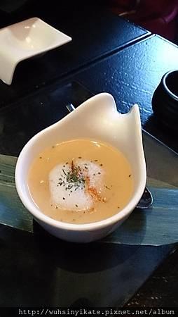 櫻花蝦海鮮玉子蒸