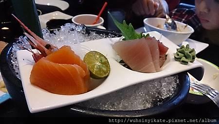 季節鮭魚刺身