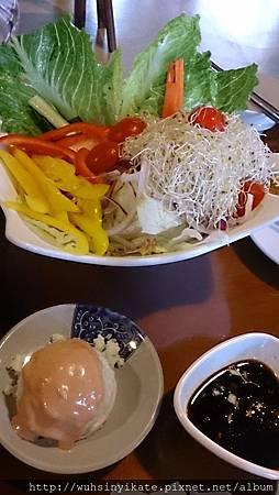 薯泥生菜沙拉