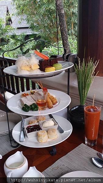 Four Seasons Resort Chiang Mai下午茶
