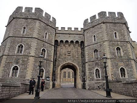 Windsor Castle 入口處