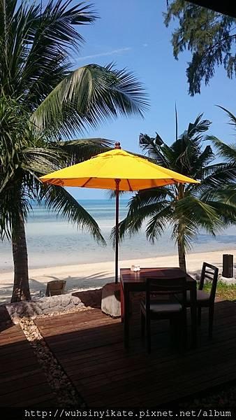 Mövenpick Resort, Koh Samui 早餐區一角