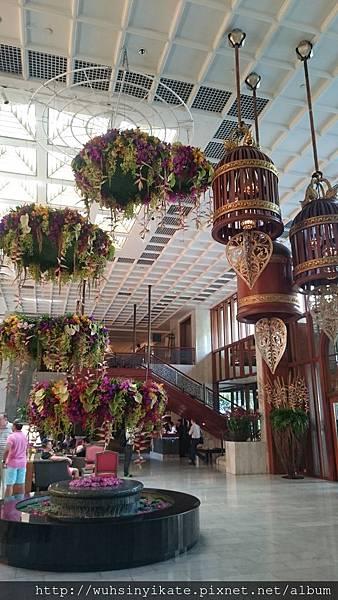 Lobby, Mandarin Oriental, Bangkok