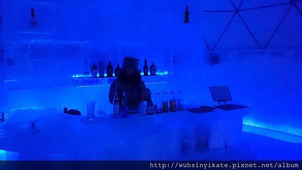 Ice Village愛絲冰城內的 Ice Bar