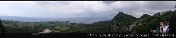 大石林山 美ら海展望台コース 可以遠眺沖縄本島最北端的辺戸岬(天氣好時看到鹿児島県与論島)