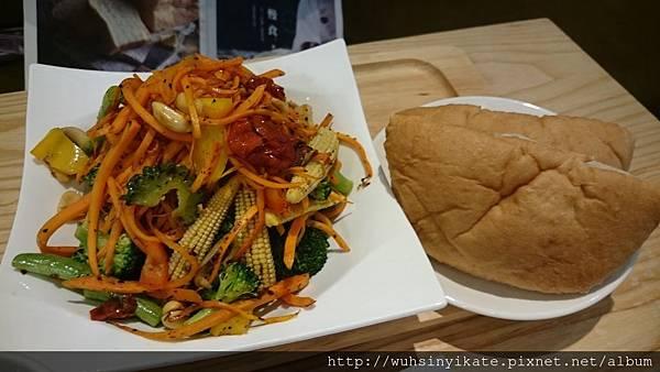 烤蔬菜佐PITA