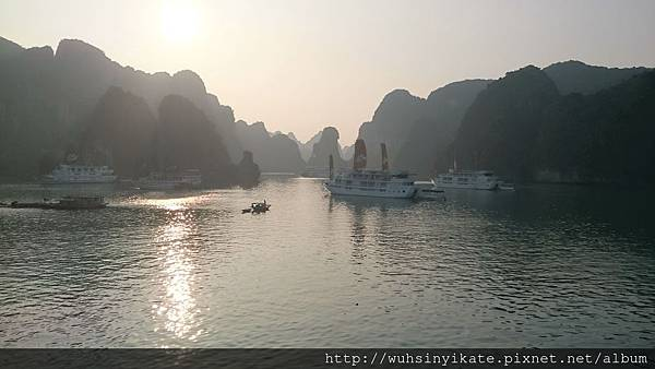 Halong Bay-Sunrise