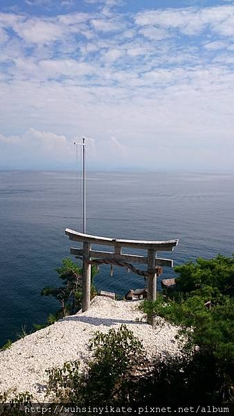 竹生島神社 宮崎鳥居