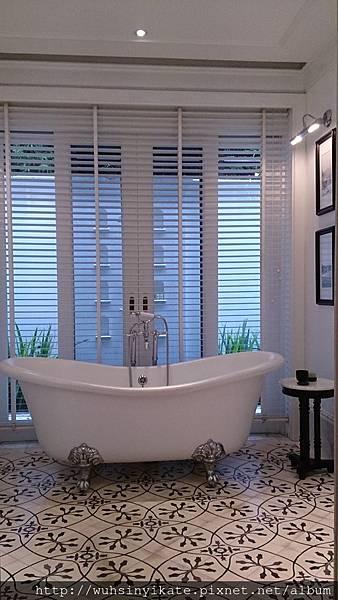 137 Pillars House 復古浴缸!!