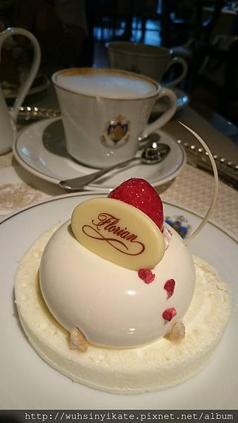 茉莉花茶慕斯蛋糕