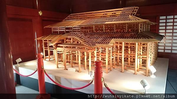 首里城 正殿建築模型