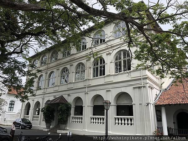 Amangalla本身就是一棟歷史建築