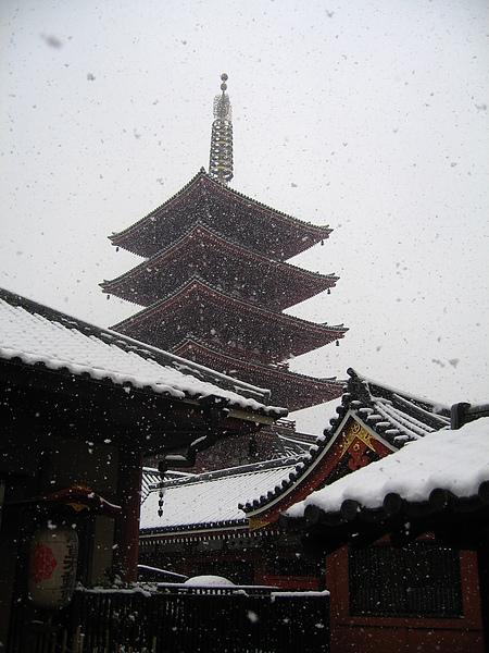 2006 冬 @ 日本東京淺草寺