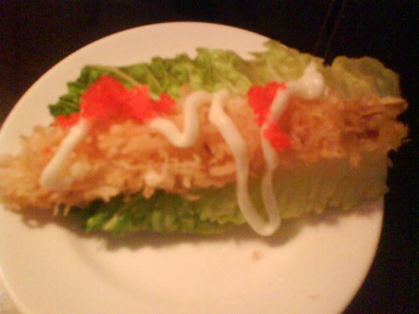 蘿蔓生菜蝦