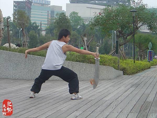 武術教學現場-2