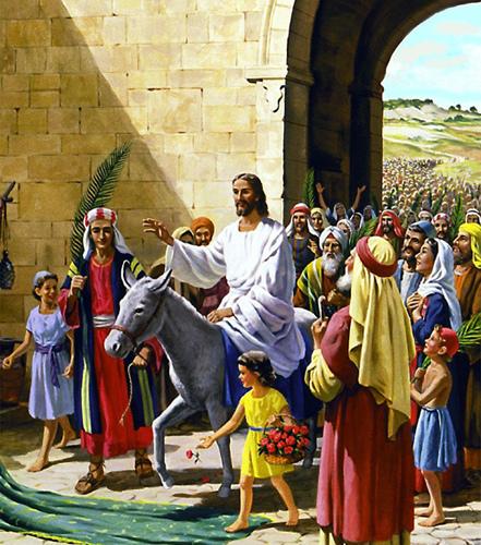 耶穌 驢子