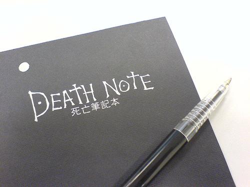 死亡筆記本 專案