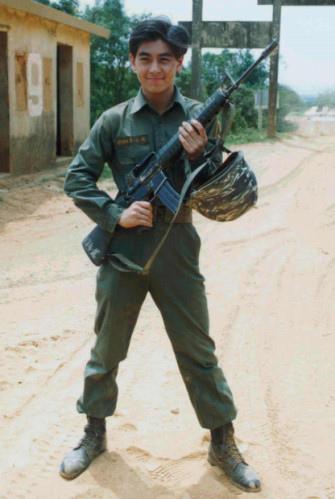 林志穎 當兵 服役