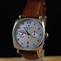 江詩丹頓 方形新款 5針全自動機械背透男士腕錶