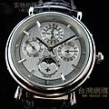 江詩丹頓 複雜月相 機械男腕錶3800