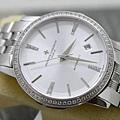江詩丹頓 皇家鷹系列新款 鑲鑽邊藍寶石 高檔大氣男士機械錶