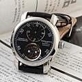 江詩丹頓 機械透背 藍寶石鏡面男士手腕錶1