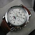 江詩丹頓 雙曆紀念版 多功能機械男腕錶3200